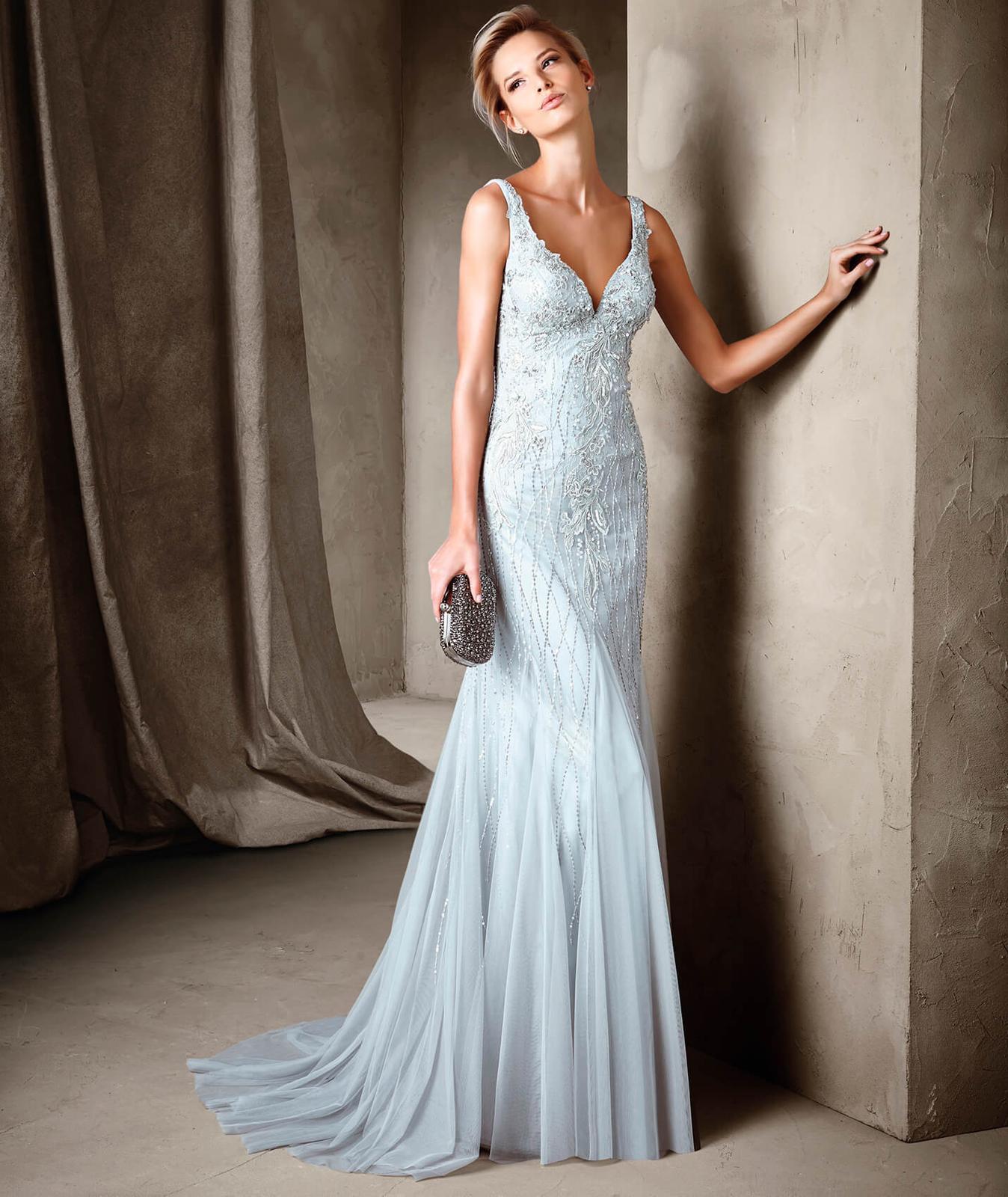 Svatební šaty Pronovias Conary vel 36 - Obrázek č. 1