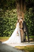 Svatební krajkové šaty Pronovias Pergola, 38