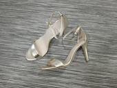 Zlaté sandálky na podpatku Aldo, 38