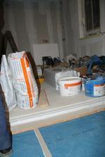 Hotová podlaha v kuchyni