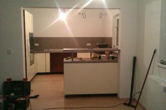 Kuchyň Lamont - už se to rýsuje:-)