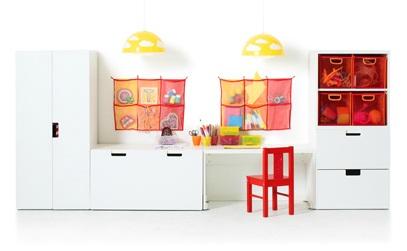 Dětský pokoj - naše inspirace - Takhle by to asi mohlo vypadat, jen jiné lampy a židlička