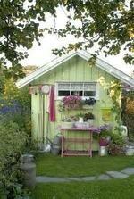 Zahradní domek bude taky potřeba