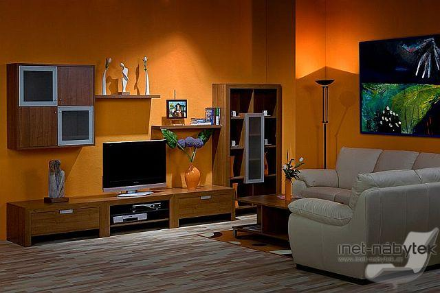 Obývací pokoj - co by se nám líbilo - Milano 5 http://www.inet-nabytek.cz/d-milano-5-obyvaci-stena-