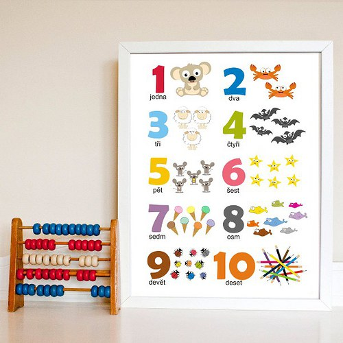 Dětský pokoj - naše inspirace - Obrázky na zeď Fler-Dythree