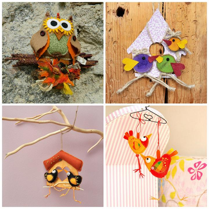 Dětský pokoj - naše inspirace - Ke stromu na stěně budou dekorace s motivem ptáčků (tyto jsou z Fleru od prodejce Krasohled)