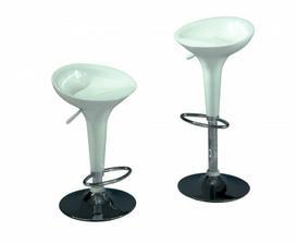 Bílé barové židle Sconto