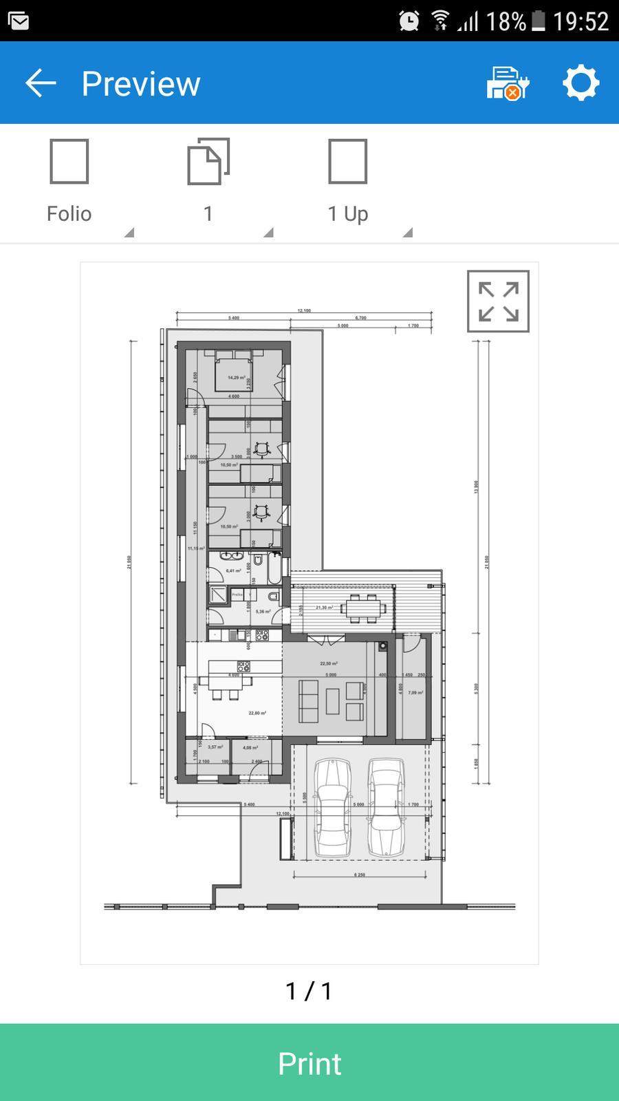 Projekt Rodinného Domu Bungalov Do L Projek