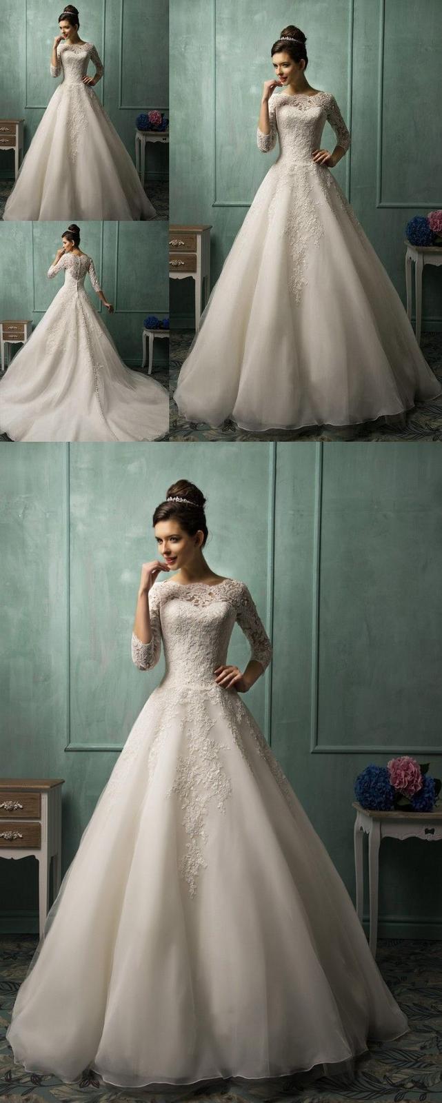 Nové svatební šaty vel. XS až S - Obrázek č. 2
