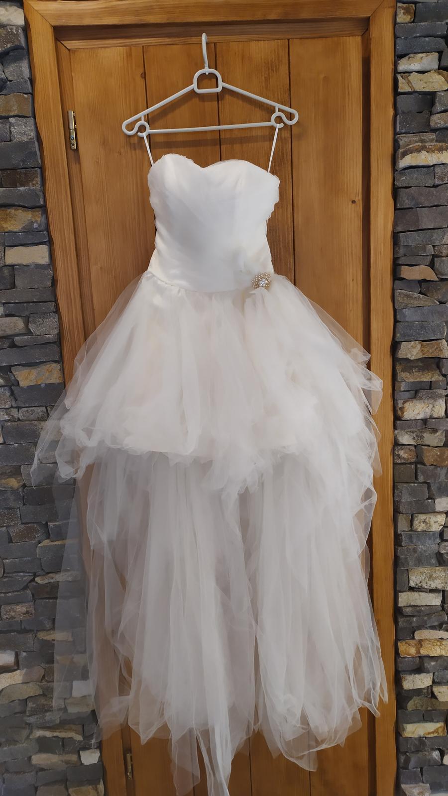 Svadobné/spoločenské šaty - Obrázok č. 1