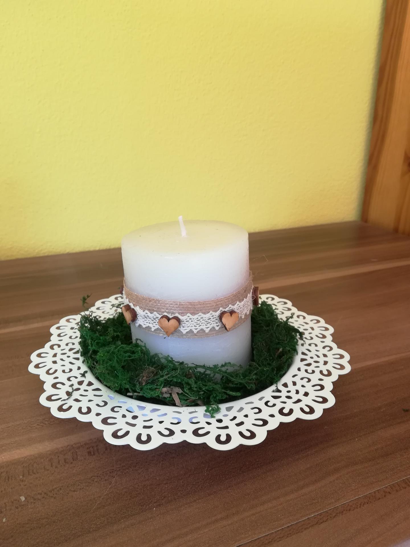 Přípravy na říjen - Do mechu přijde zapíchat nevěstin závoj