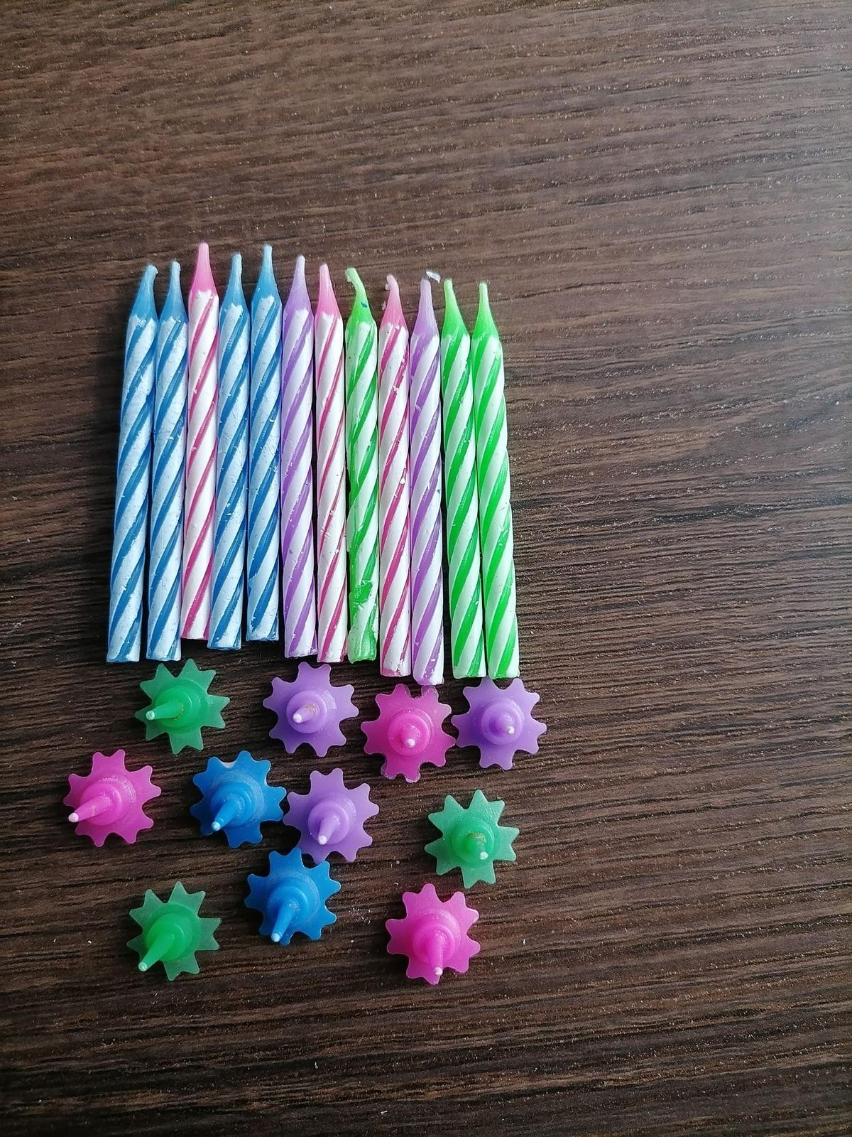 Mini sviečky - Obrázok č. 1