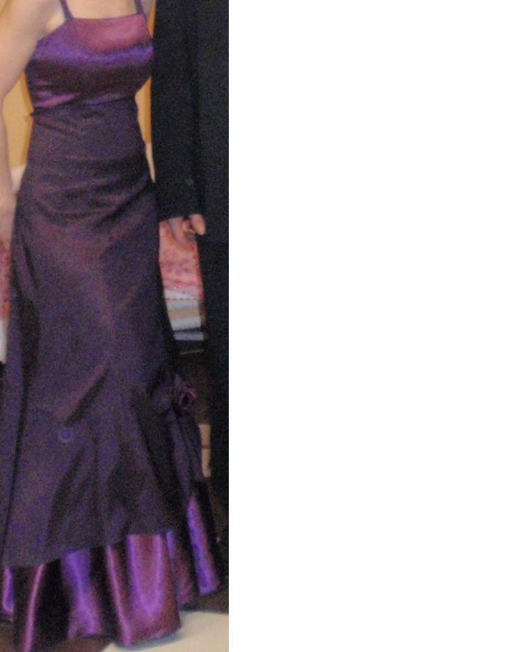 Fialové šaty - Obrázok č. 1