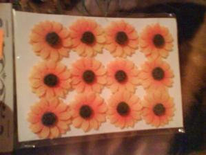 slunečnice na kartičky