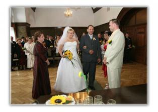 předávání nevěsty ženichovi !!!