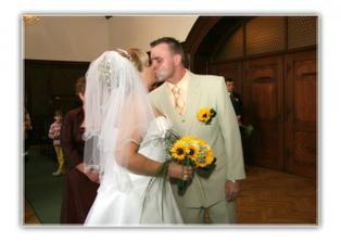 první manželský Mlaskavý polibek :-)