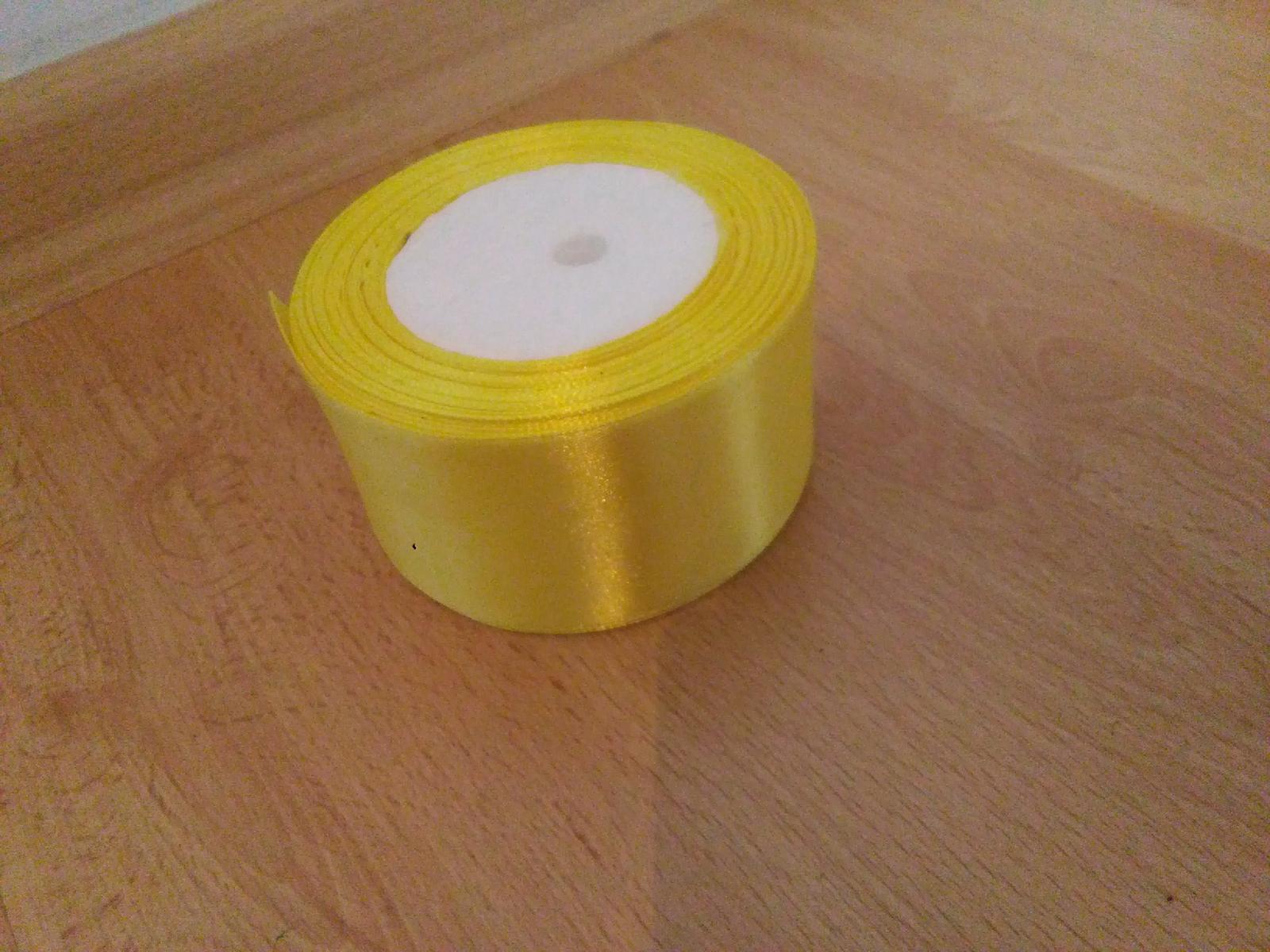 Stuha žlutá - Obrázek č. 1
