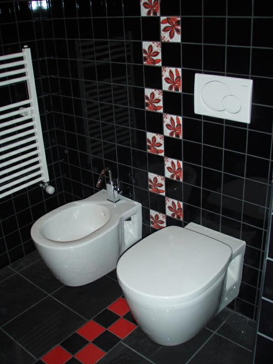 Pokracujeme......... - konečne WC hotové