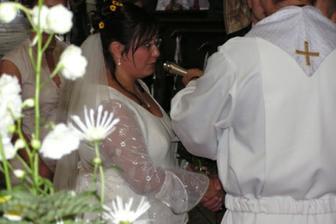 ... Já Eva přijímám Tě Bedřichu za manžela ...