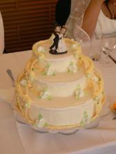 ... svatební dort ..