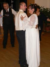 ... první svatební tanec ...