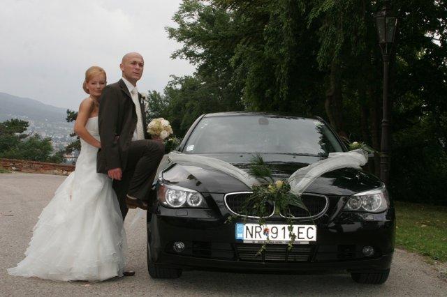 Magdaléna{{_AND_}}Zoli - naše svadobné autíčko...