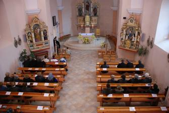 kostol sv. Petra a Pavla, v ktorom bude sobas