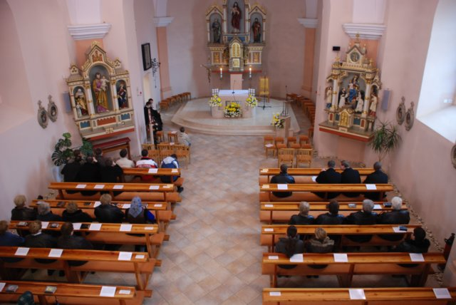 Zdenkamatus - kostol sv. Petra a Pavla, v ktorom bude sobas