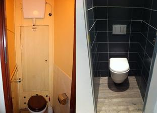 WC před a po - řekněme, že určité části našeho bytu už vypadají o dost lépe :-))
