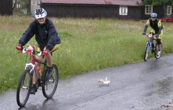 Na cestu do Jablonce nám docela dost vydatně pršelo štěstí.