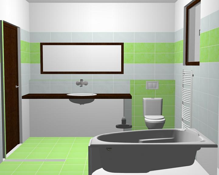 Dilema - kúpelka - takže na takúto verziu sme objednali obklad..