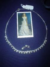 Tento náhrdelník a naušničky už mám doma - Svatební veletrh 10.2.2007 - Svatební salon Delta