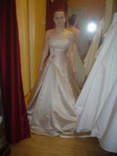 Salon Potěšení 79 - šaty č. 5 (nádherné a dlouho byly favoritky, nakonec ale skončily na druhém místě)