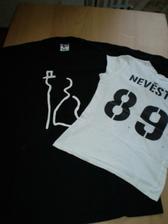 ...i svatební trička, která si vezmeme na večerní oslavu :-)