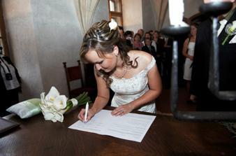 ... i nevěsta samozřejmě :-)
