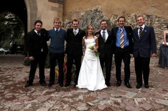 Nevěsta a mužské osazenstvo ...