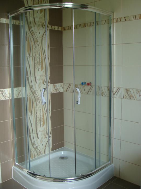 Náš budúci domček - bungalow 5 - sprchový kút
