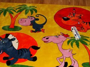 koberec v detskej