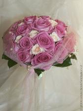 nádherná svatební kytice