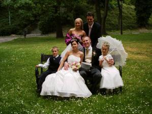 S Filipkom, Veronkou a mojou drahou sestrickou Gabi a moj super stryko Radko