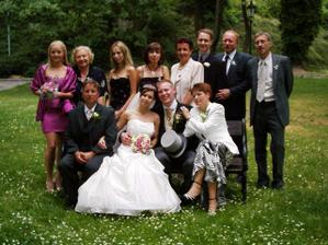 Spolocne foto na hrade - tatova strana rodiny, ale nie cela :(
