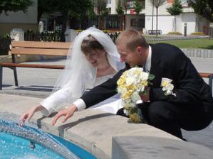 Zábava pri fontáne :-)