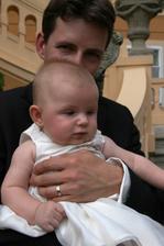 manžel s naší dcerou Kristýnkou