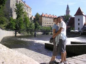 Konečně na svatební cestě v Českém Krumlově