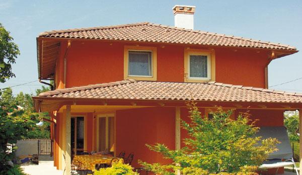 Nase predstavy a inspiracie :-) - Krasna krytina, Mediterran Coppo Antik cervena