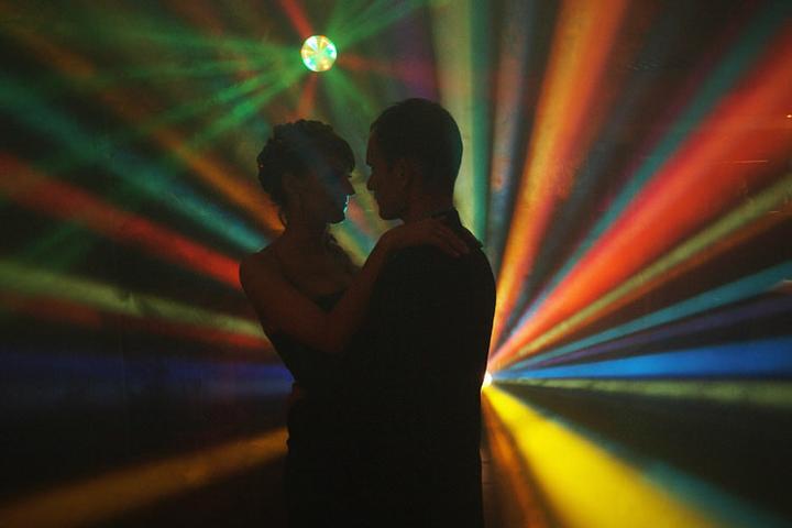 audiovideoprodukcia - záverečný tanec novomanželov