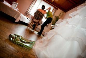 momentky z příprav nevěsty
