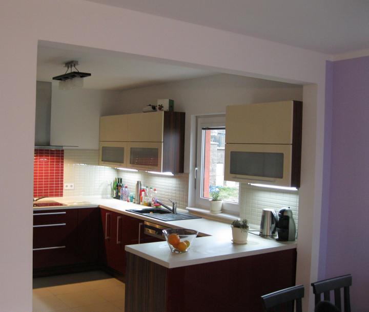 RD Rýmařov Nova 101 se zádveřím, rok výstavby 2011 - Kuchyně - pohled z obýváku
