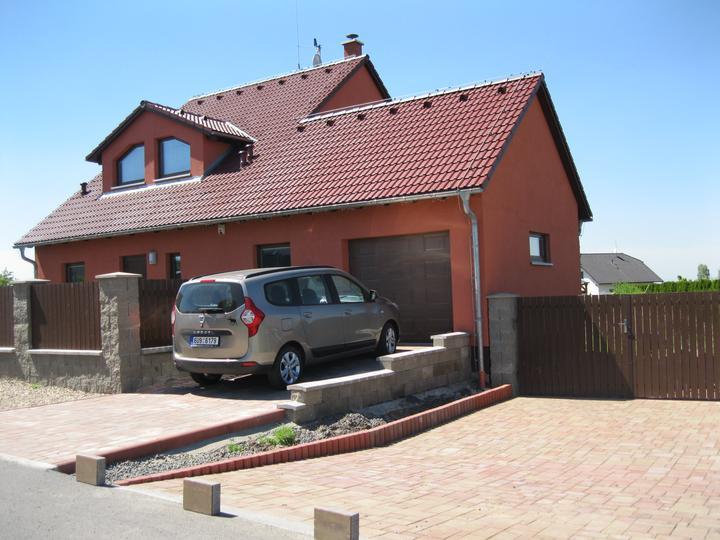 Nova 101 zvenčí + terasa a dlažba - Obrázek č. 2