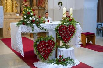 Dvojsrdce pod oltářem